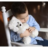 """Unique Children's Sympathy Gift for Grieving Child Stuffed Animal """"Angel Bear"""""""