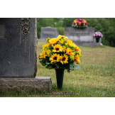 Plastic Cemetery Vase with Spike