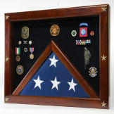 Federal Shadow Box for Memorial Flag
