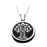 Tree of Life Memorial Urn Pendant