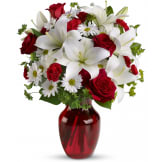 Be My Love Bouquet with Red Roses (Deluxe)