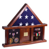 Classic Shadow Box for Memorial Flag