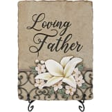 """Loving Father"" Memorial Marker"