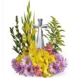 Crystal Cross Bouquet (Standard)