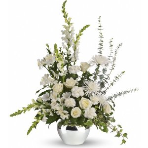 Serene Reflections Bouquet flower arrangement
