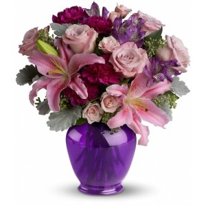 Teleflora's Elegant Beauty flower arrangement