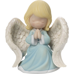 "Precious Moments - Praying Angel"" Resin Music Box"