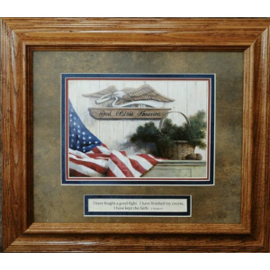 Home of the Brave Memorial Framed Art