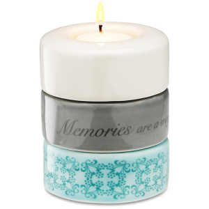 Memories Stack Candle Holder