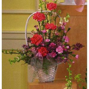 Pink Sympathy Basket