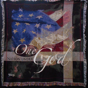 Patriotic Throw