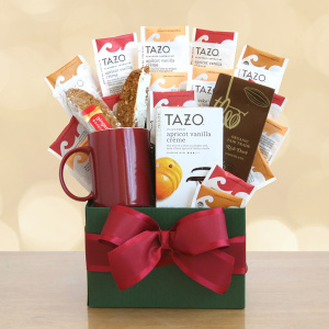 With Sympathy Tazo Tea Basket
