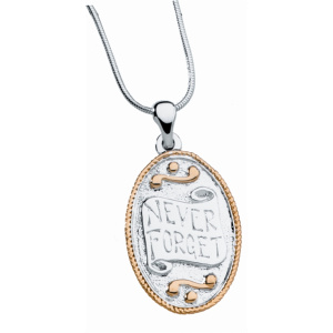 Never Forget™ Pendant & Chain (Reversible)
