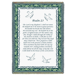 23 Psalm Blanket