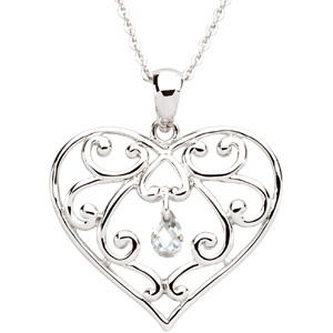 The Healing Heart Pendant & Chain