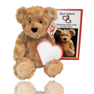 Bare Heart Buddy - Messages of Love Bear