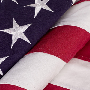 American Flag - Memorial size 5ft by 9.5 ft