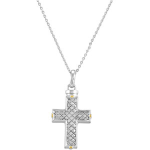 Checkerboard Cross Holder