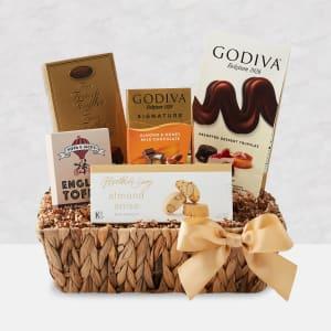 Gold Rush Chocolate Gift Basket