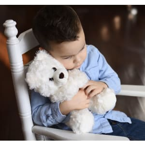 "Unique Children's Sympathy Gift for Grieving Child Stuffed Animal ""Angel Bear"""