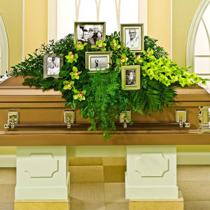 Everlasting Memories Casket Spray
