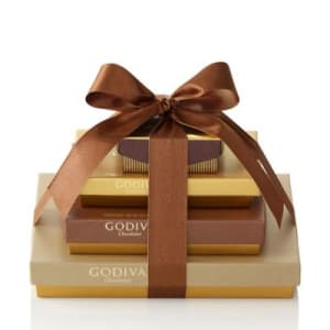 Godiva Chocolate Sweet Surprise Gift Tower