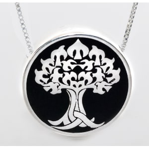 Tree of Life Heirloom Urn Pendant