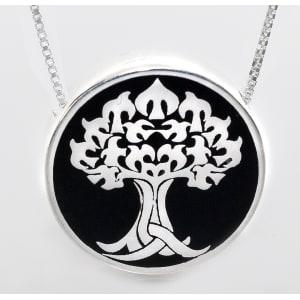 Tree of Life Heirloom Urn Pendant