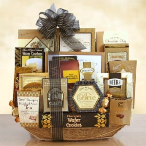 With Our Deepest Sympathy Gift Basket