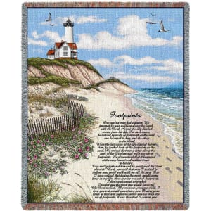 Footprints Blanket