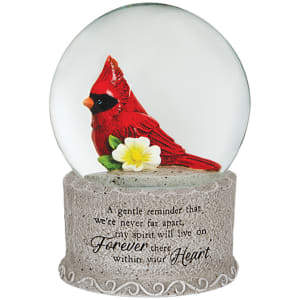 Your Heart Water Globe