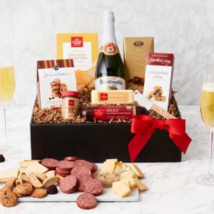 Classic Gourmet Salami & Cheese Gift Box