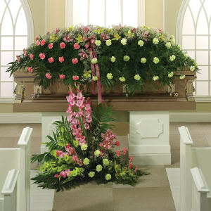 Eternal Garden Casket Spray
