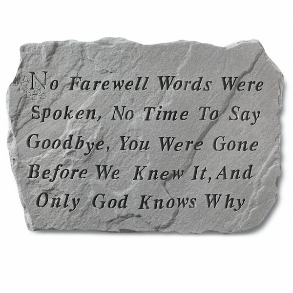 words to say goodbye to a loved one
