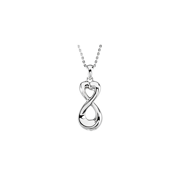 Infinite love pendant memorial jewelry the sympathy store infinite love pendant aloadofball Image collections