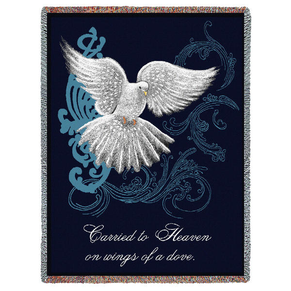 dove blanket tribute blankets the sympathy store