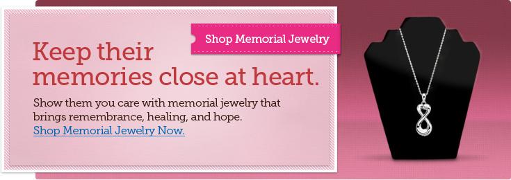 Shop Memorial Jewelry