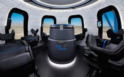JEFF BEZOS' SPACE TOURISM ROCKET: THE NEW SHEPARD