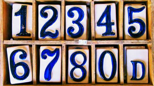 number series numerical