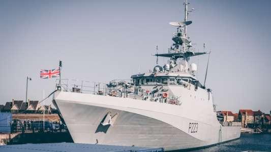 Royal Navy test