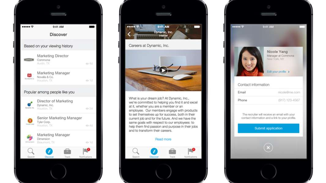 recruitment app LinkedIn Recruiter