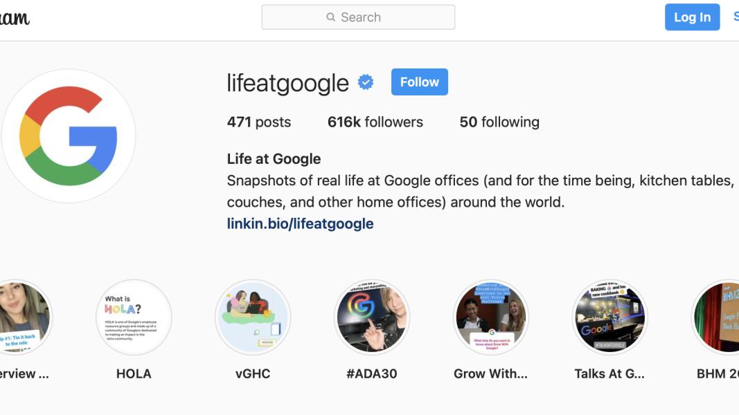 Best Instagram recruitment example