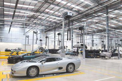 Jaguar Land Rover Tests
