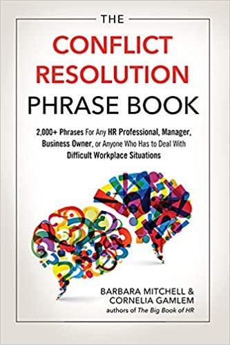 conflict resolution phrase book