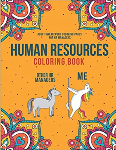 human resources coloring book
