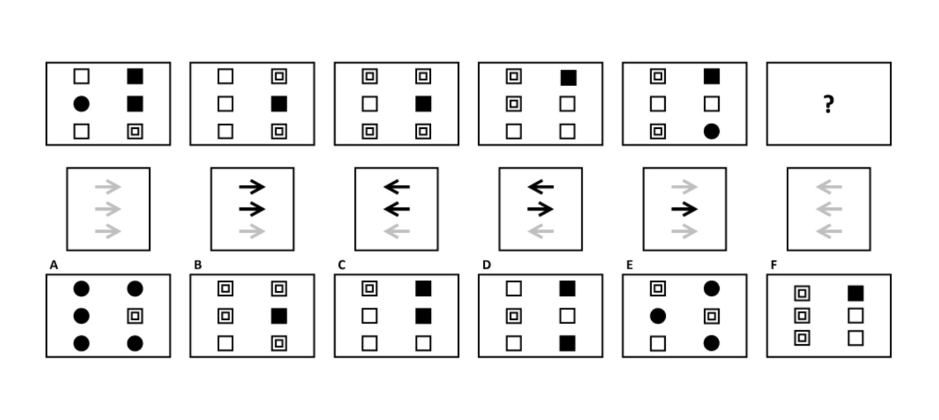 logical diagrammatic test sample