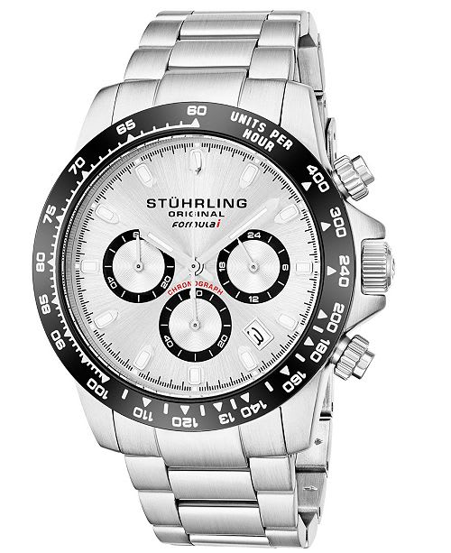 stuhrling chronograph watch