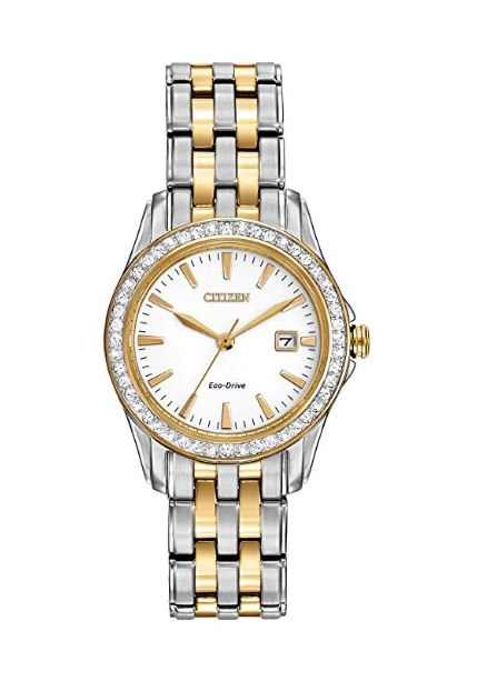 Citizen Watches Women's EW1908-59A Eco-Drive Silhouette Crystal