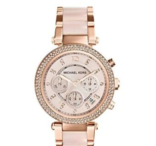 michael kors parker watch rose gold