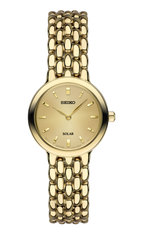 seiko ladies gold tone watch